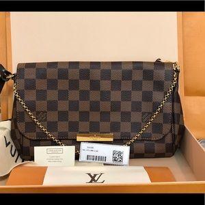 Authentic Louis Vuitton Favorite MM D Ebe EUC